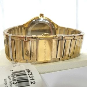 Michael Kors Accessories - NWT Michael Kors Gold-Tone Kerry Watch MK3312